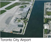 Billy Bishop Toronto City Airport Aerial View - The TCCA - 2005
