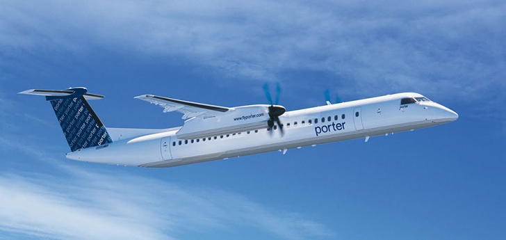 Bombardier Q400 - Porter Airlines